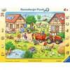 Mein kleiner Bauernhof 24 Teile Rahmenpuzzle