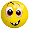 """Ball Emotive Face 9""/23cm"""