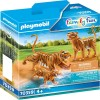 2 Tiger mit Baby Playmobil