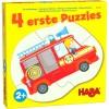 4 erste Puzzles – Einsatzfahrzeuge HABA