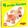 4 erste Puzzles – Tierkinder HABA