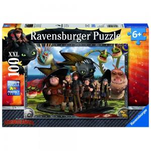 Ohnezahn und seine Freunde Puzzle 100 Teile XXL