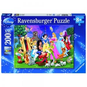 WD: Disney Lieblinge Puzzle 200 Teile XXL