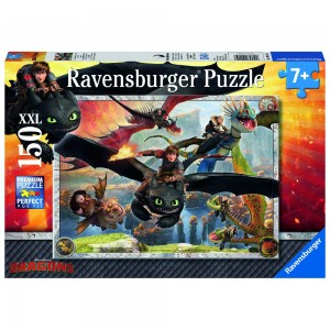 Drachenzähmen leicht gemacht Puzzle 150 Teile XXL