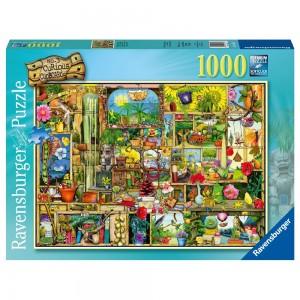 Colin Thompson: Grandioses Gartenregal 1000 Teile Puzzle
