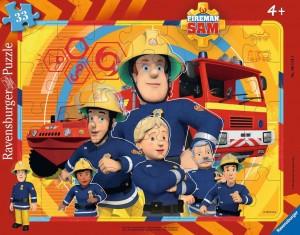 Sam, der Feuerwehrmann Rahmenpuzzle 30-48 Teile