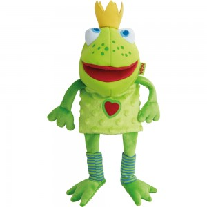 Handpuppe Froschkönig HABA