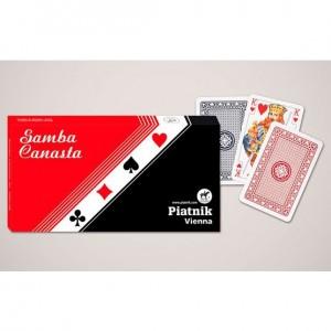 Standard Samba Canasta - Dreifachspiel Piatnik