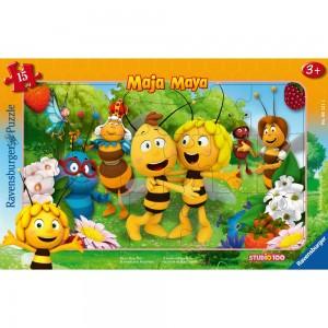 BM: Biene Majas Welt Rahmenpuzzle 15 Teile