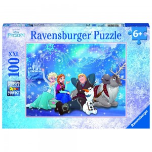 DFZ: Eiszauber Puzzle 100 Teile XXL