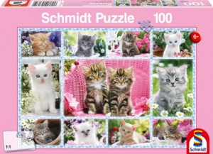 Katzenbabys Puzzle 100 TEILE