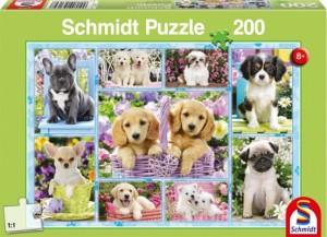 Welpen Puzzle 200 TEILE