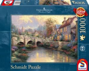 Bei der alten Brücke Puzzle 1000 Teile THOMAS KINKADE