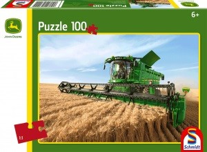 Mähdrescher S690, Puzzle 100 Teile JOHN DEERE