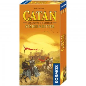 Catan - Städte & Ritter Erg. für 5 - 6 Spieler