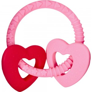 Beißring BabyGlück rosa