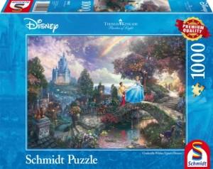 Disney Cinderella Puzzle 1000 Teile Thomas Kinkade
