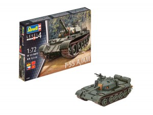 Revell Bausatz T-55 A/AM 1:72