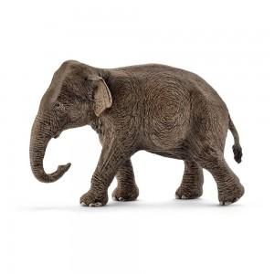 Asiatische Elefantenkuh Schleich Wild Life 14753