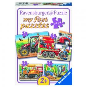 Bei der Arbeit 2,4,6,8 Teile My first puzzles