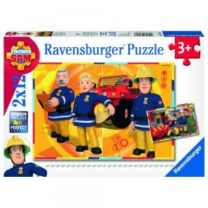 FS: Sam im Einsatz 2 x 12 Teile Puzzle