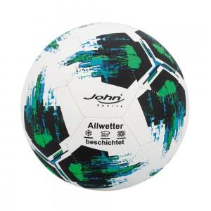 Fußball Premium Relief, Gr. 5/22cm, 420gr, rot/grün 2fach sort.