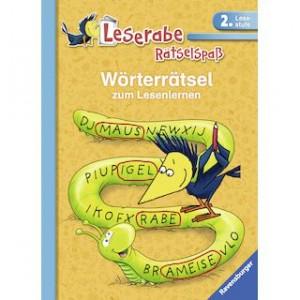 Leserabe Rätselspaß: Wörterrätsel zum Lesenlernen