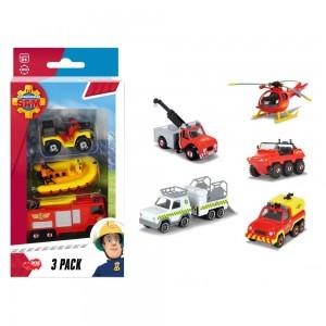 Feuerwehrmann Sam 3er Pack