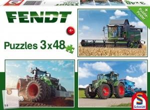 Fendt 1050 Vario / 724 Vario / 6275L Puzzle 3x48 TEILE