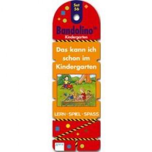 Bandolino Set 56 Das kann ich schon im Kindergarten