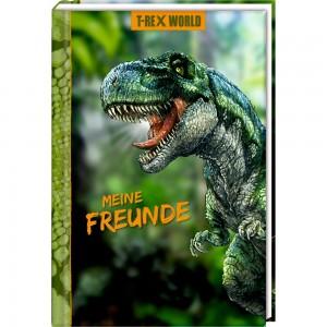 Freundebuch: Meine Freunde-T-Rex World