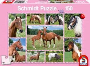 Pferdeträume Puzzle 150 Teile
