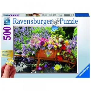 Blumenarrangement Puzzle 500 Teile Gold Edition