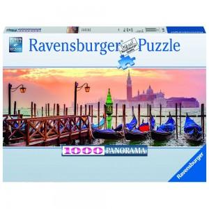 Gondeln in Venedig 1000 Teile Puzzle