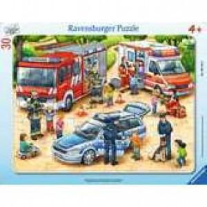 Spannende Berufe Rahmenpuzzle 30-48 Teile