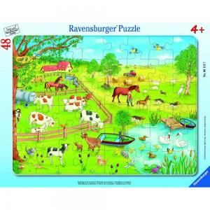 Spaziergang auf dem Land Rahmenpuzzle 6145 Ravensburger