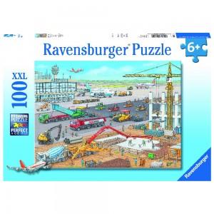 Baustelle am Flughafen Puzzle 100 Teile XXL