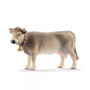 Braunvieh Kuh Schleich Farm World 13874