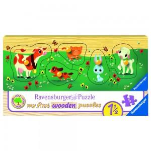 Liebste Tierfreunde Puzzle 3-5 Teile