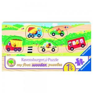 Allererste Fahrzeuge Puzzle 3-5 Teile