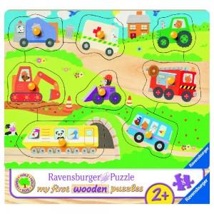 Lieblingsfahrzeuge Puzzle 7-10 Teile