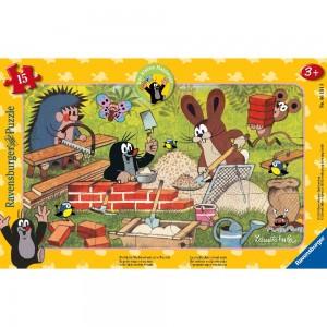 MW: Der kleine Maulwurf und seine Freunde 15 Teile Rahmenpuzzle