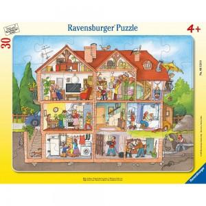 Blick ins Haus 30-48 Teile Rahmenpuzzle