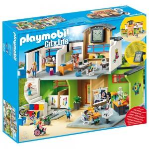 Große Schule mit Einrichtung Playmobil