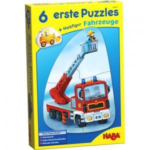6 erste Puzzles – Fahrzeuge HABA