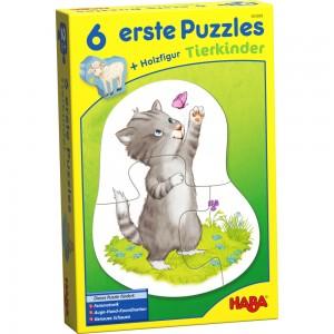 6 erste Puzzles – Tierkinder HABA