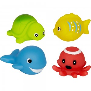 Blinkende Wassertiere