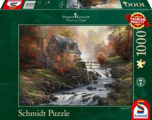 Bei der alten Mühle Puzzle 1000 Teile THOMAS KINKADE