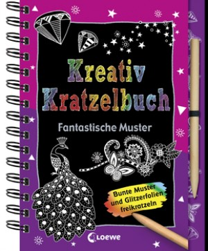 Kreativ Kratzelbuch: Fantastische Muster