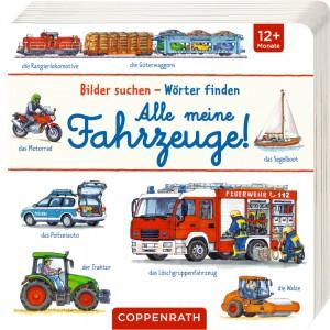 Bilder suchen-Wörter finden: Alle meine Fahrzeuge!